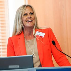Gillian Quinton at the CIPFA Conference 2015