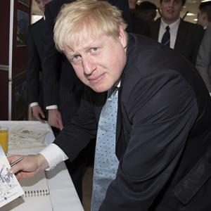 Boris and a book