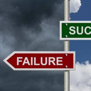 Failure success signpost