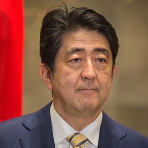 Shinzō Abe, Japanese PM