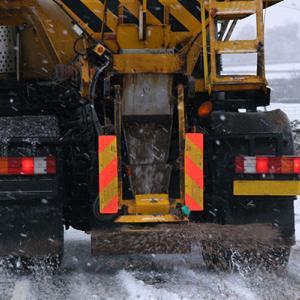 Snow gritter