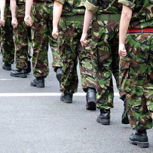 Soldiers terrorist attack