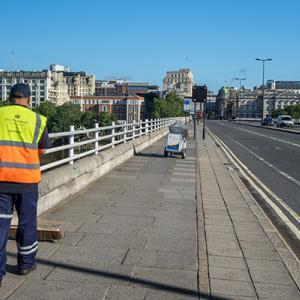 Public sector street worker