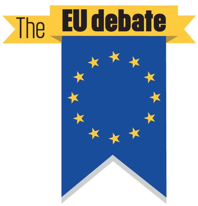 The EU Debate banner