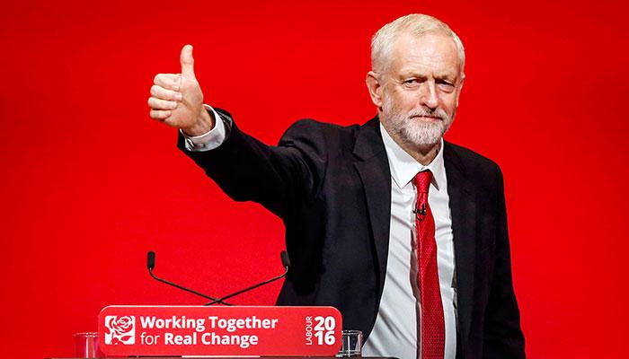 Jeremy Corbyn Labour 2016