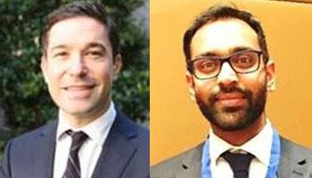 Mario Pisani and Neeraj Patel