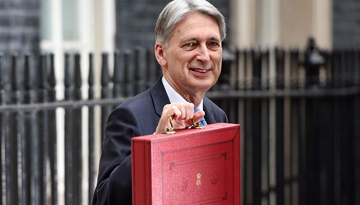 Philip Hammond gives Autumn Budget speech - one use