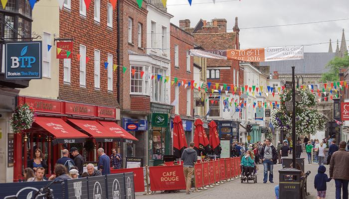 Salisbury high street ISTOCK