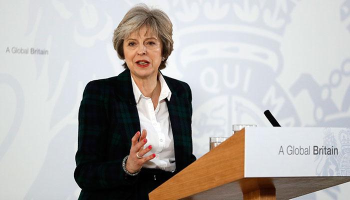 Theresa May Brexit speech