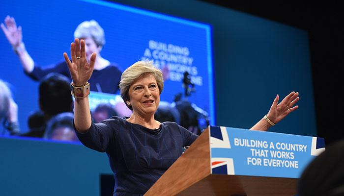 Theresa May - one use